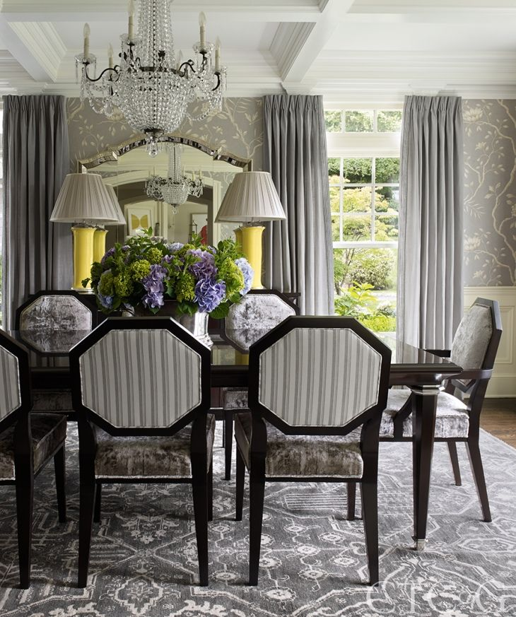 126 Custom Luxury Dining Room Interior Designs: Decorator Sam Allen Is Given A Designer's Dream: A Blank