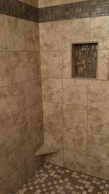 Shop Style Selections Mesa Beige Porcelain Floor Tile