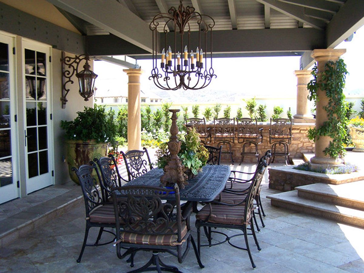 Merveilleux Indoor Outdoor Dining Room One Of 6 Total Pics Contemporary Outdoor .