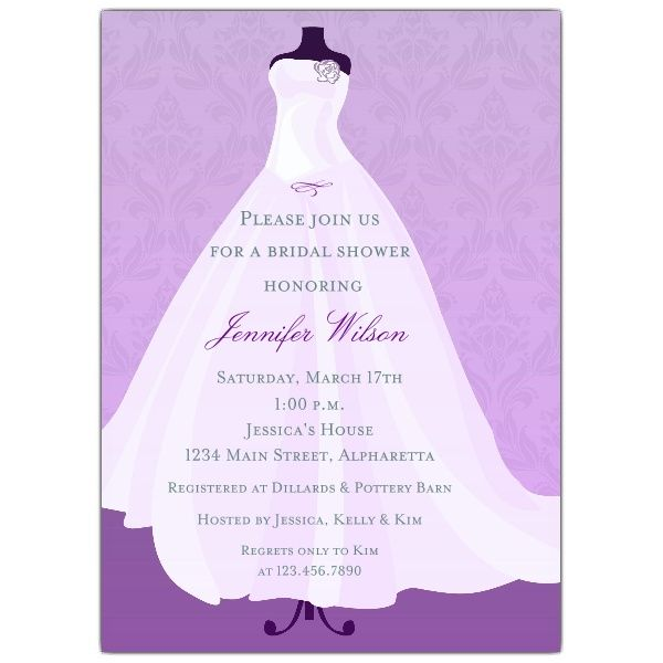 17 Best images about bridal shower invitations – Examples of Wedding Shower Invitations