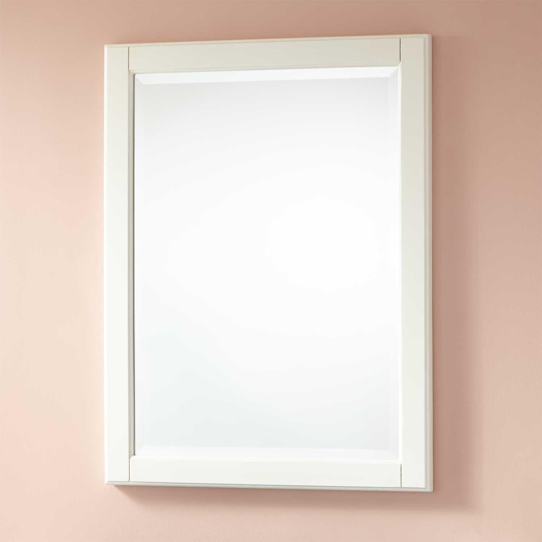 White Bathroom Mirror Ideas To Inspire You Bathroommirror Tags Bathroom Mirror Cabinet Large Bathroom Mirrors Bathroom Mirror Design Black Bathroom Mirrors