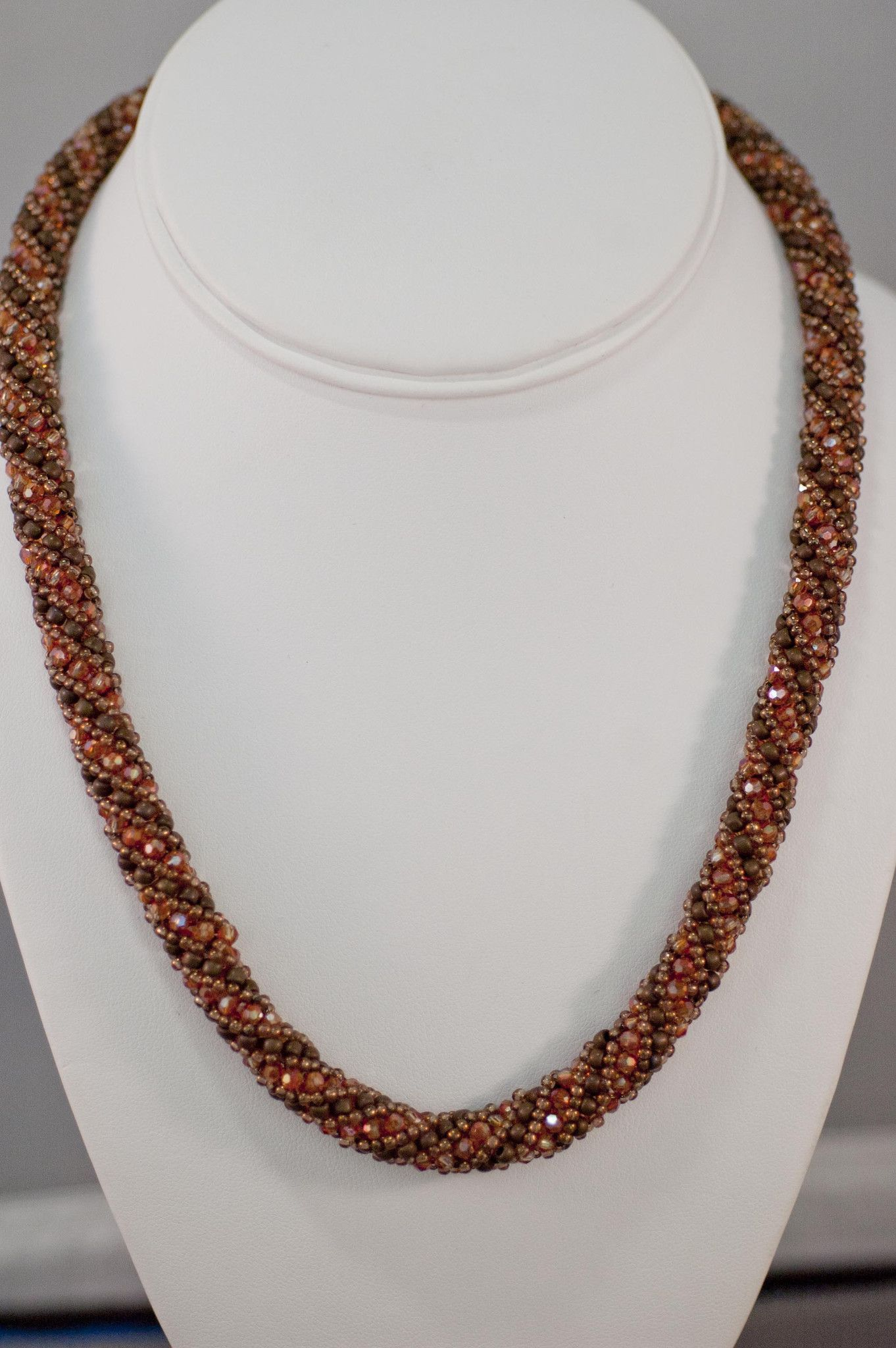 Over 300 Swarovski round crystals sparkle in this necklace. These round  crystals… a59dc7ea30