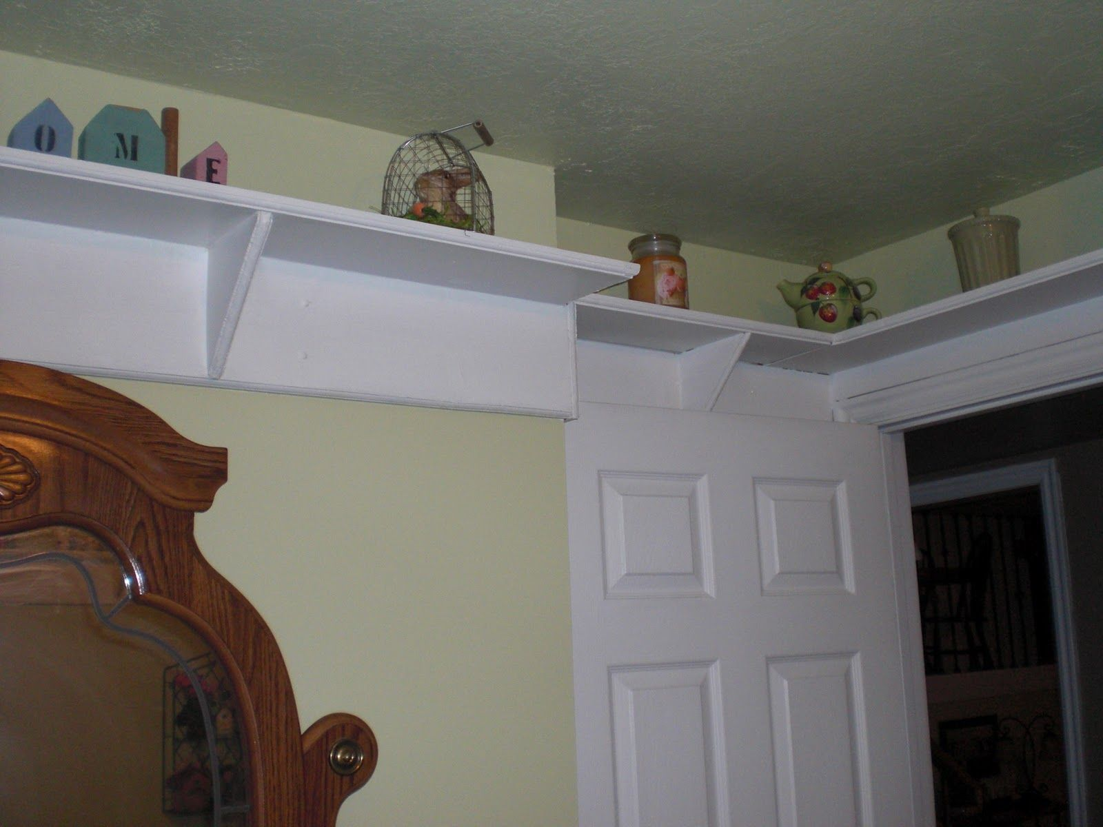 High Shelves Around The Room In 2019 Shabby Chic Bedrooms