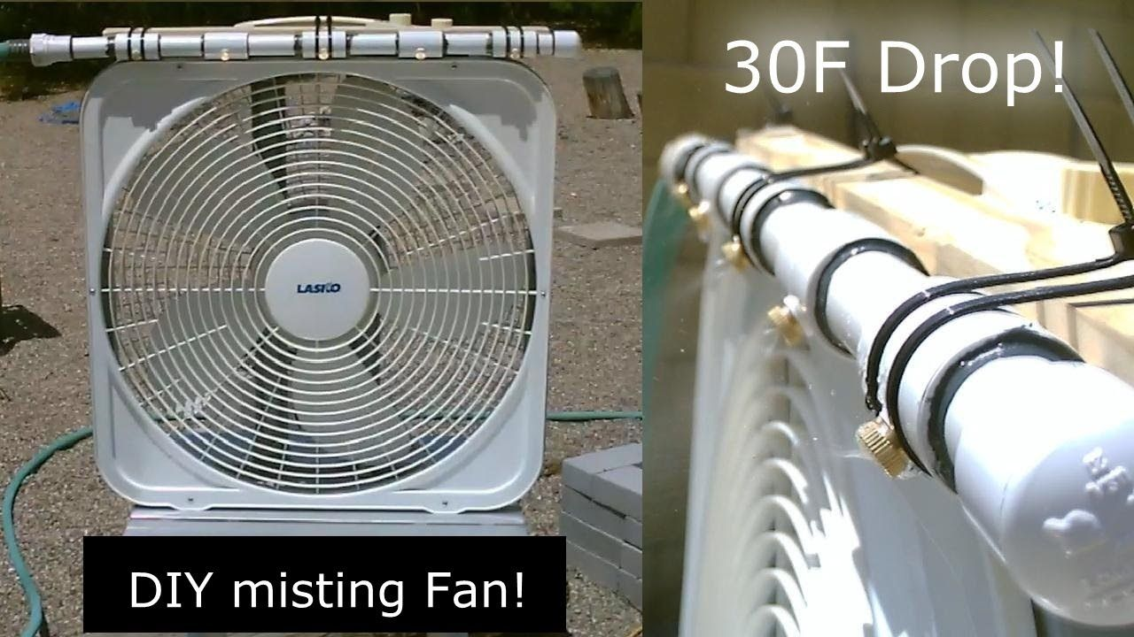 Diy Evap Cooling Fan Homemade