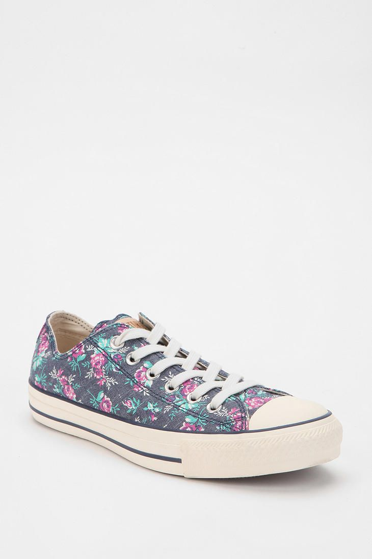 a7658cf3c5a4 Converse Chuck Taylor All Star Floral Low-Top Sneaker  urbanoutfitters