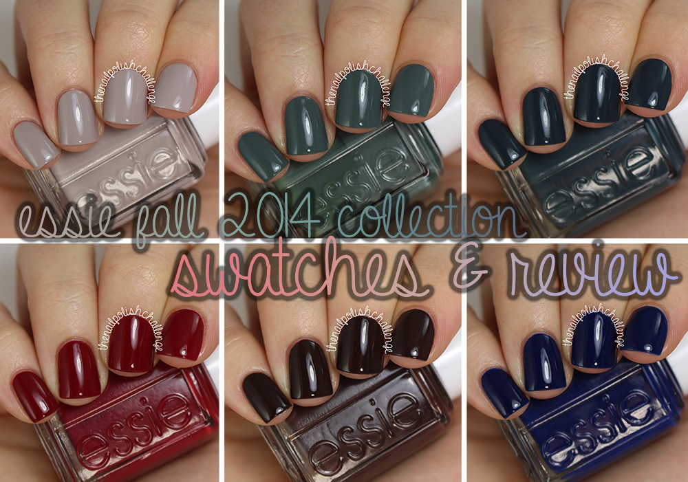 Essie Fall 2014 Collection Swatches and Review (The Nail Polish ...
