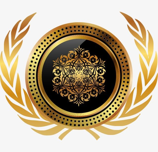 Gold Badge Label Vector Elements Golden Badge Label Png Transparent Clipart Image And Psd File For Free Download Scrapbook Frames Jewelry Art Commercial Art