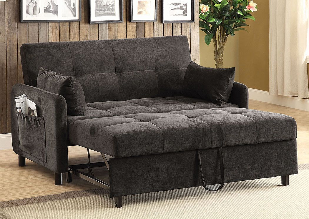 DARK BROWN SOFA BED | Marjen Of Chicago | Chicago Discount Furniture
