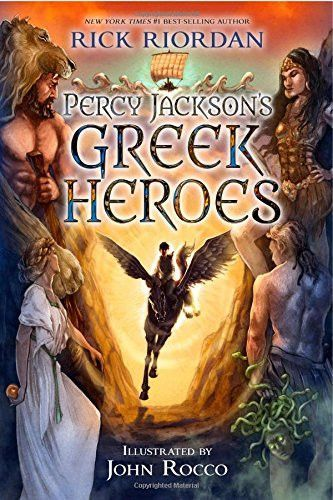 Percy Jackson's Greek Heroes by Rick Riordan | it`s a dam