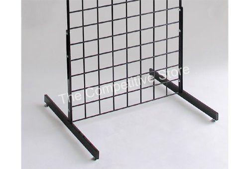 24 Grid Wall Base Leg Black