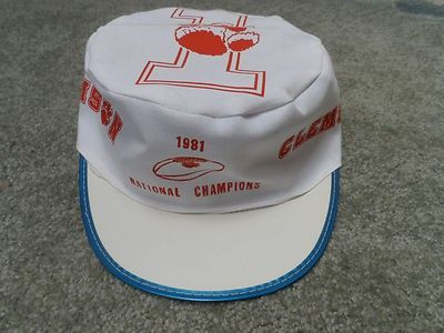 meet 269c4 7ed19 Clemson Tigers 1981 College Football National Championship Painters Hat New Tag     462778551