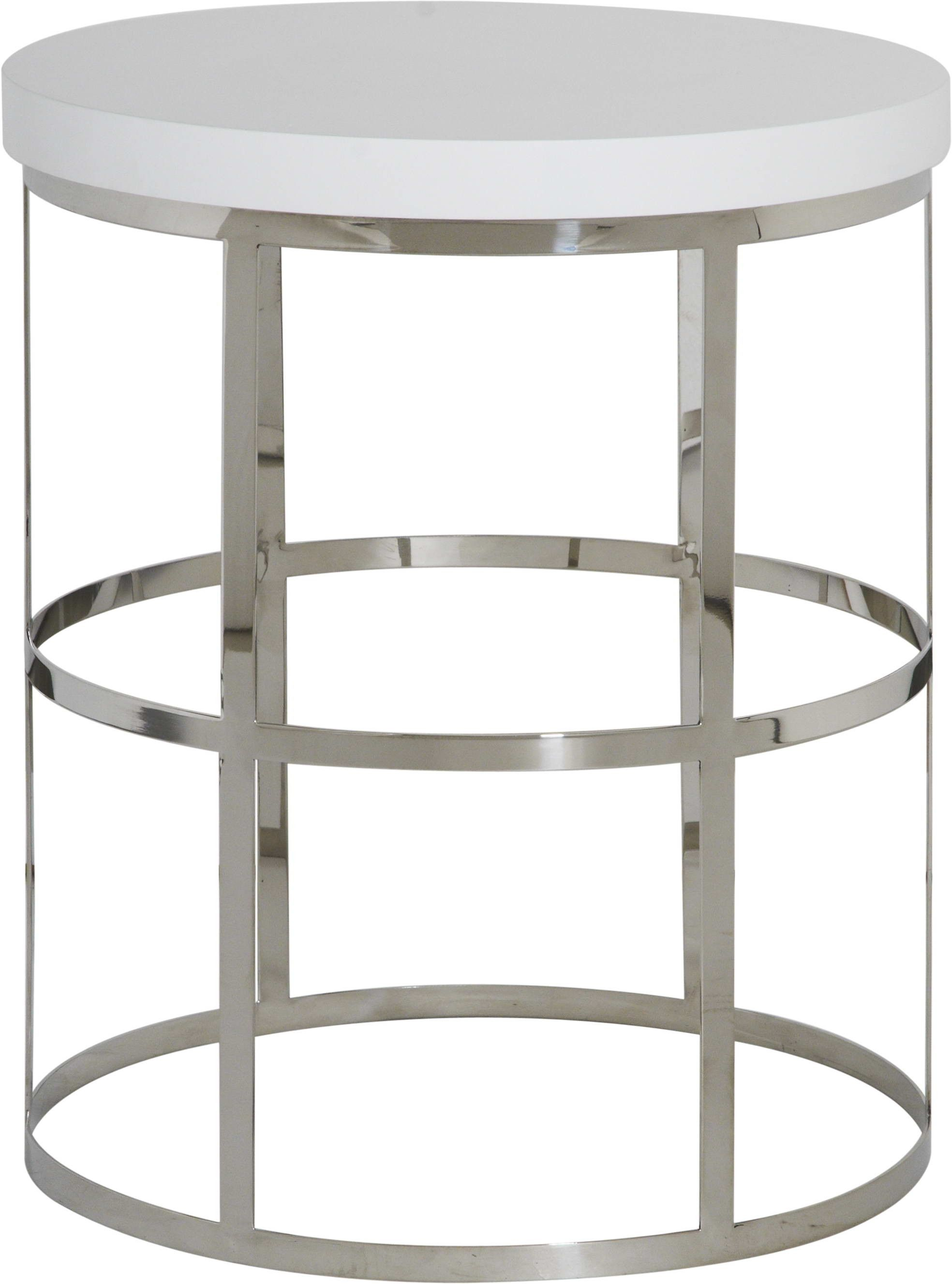 Regency Limited Ying White Side Table