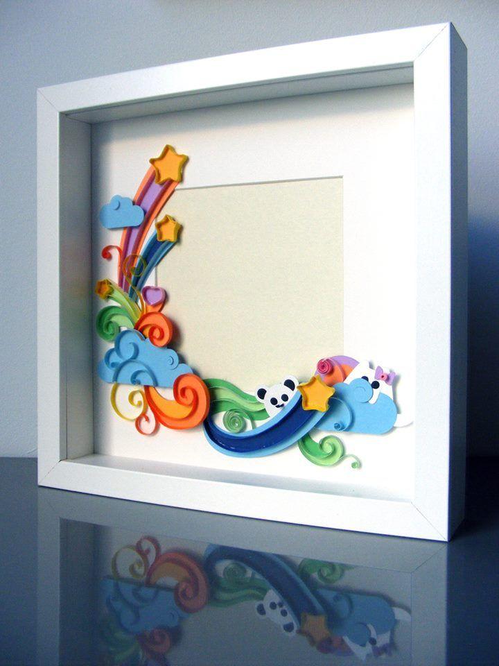 Pin de Nishadi Kalansooriya en Paper Quilled Photo Frame   Pinterest ...