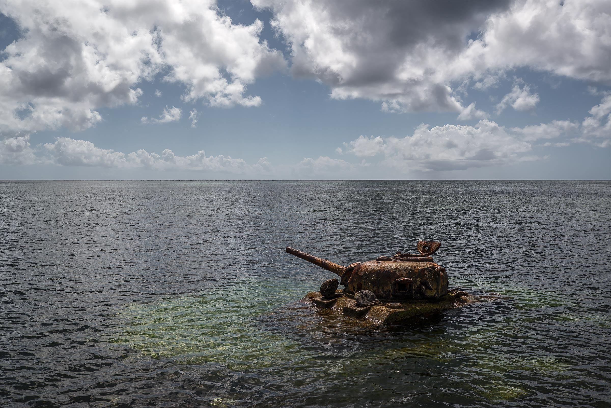 Rest in Peace: Wartime Relics Reclaimed by the Land and Sea - NBC News