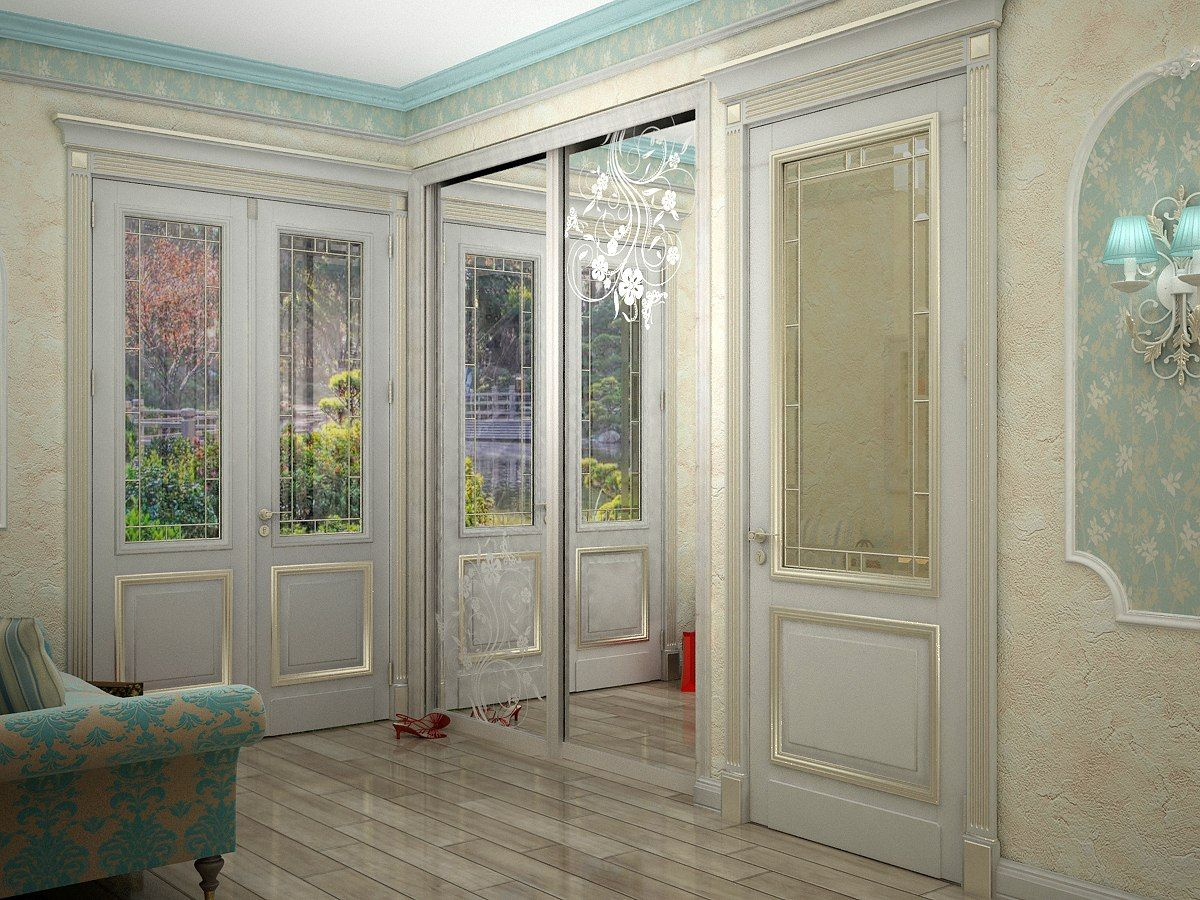 hallway in the style of Provence