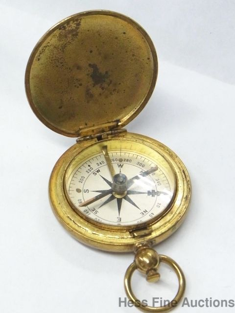 Daily Limit Exceeded Pocket Compass Vintage Military Compass