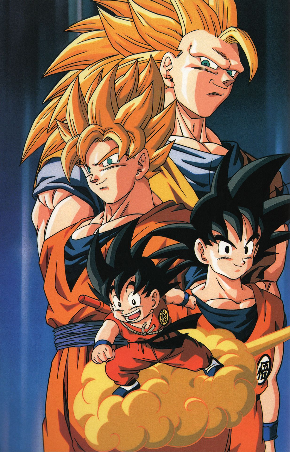 Goku And His Various Hairstyles Click Picture For Hd Scan Dragon Ball Super Goku Dragon Ball Art Dragon Ball