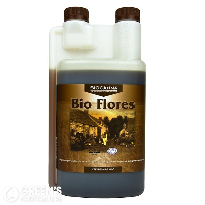 BIOCANNA Bio Flores:  If you're looking for a nice and easy way into organics then the BioCanna range could be for you. Made from 100% plant and vegetable ingredients the Vega (grow) and Flores (bloom) are easy to use and produce good results.