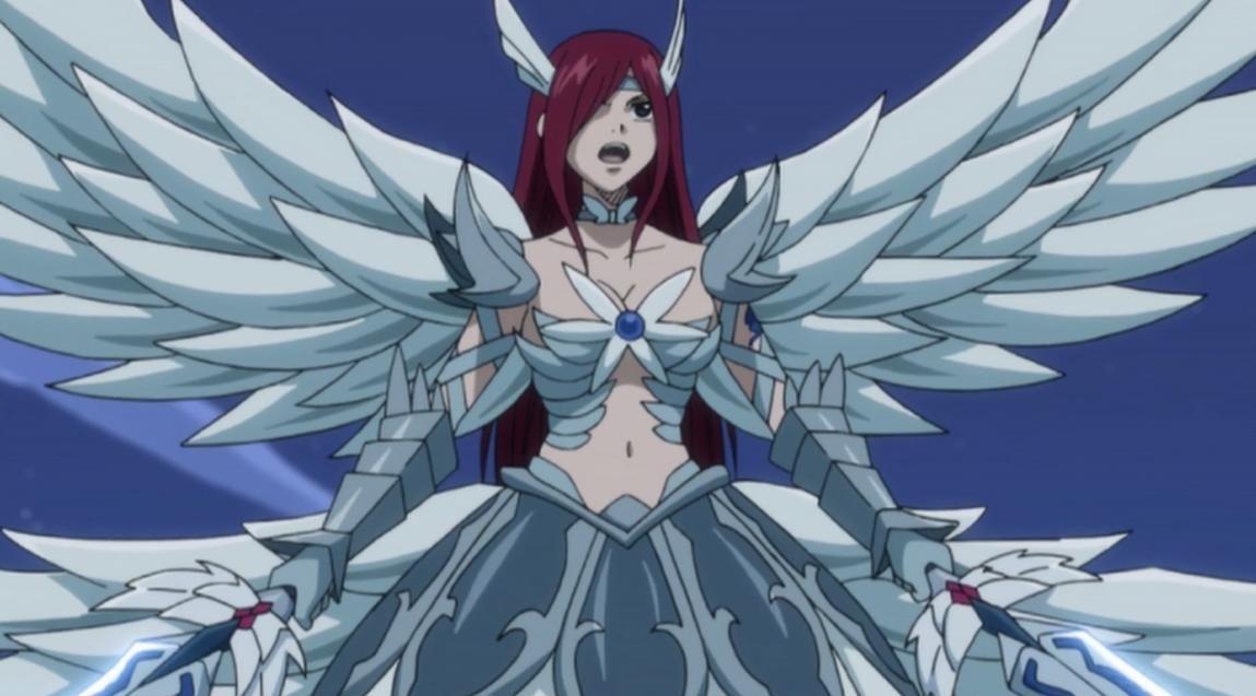 Fairy Tail Erza Armor Anime Erza Heaven Wheel Armor Fairy Tail