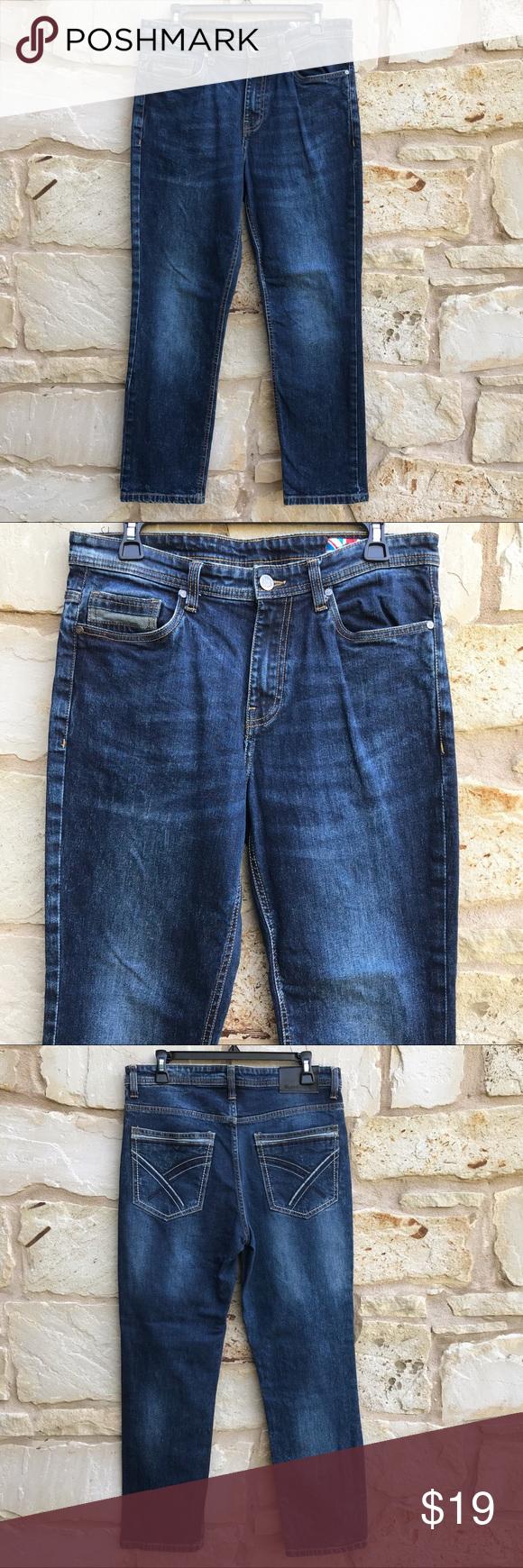 English Laundry Dark Straight Leg Jeans 30 X 30 English Laundry