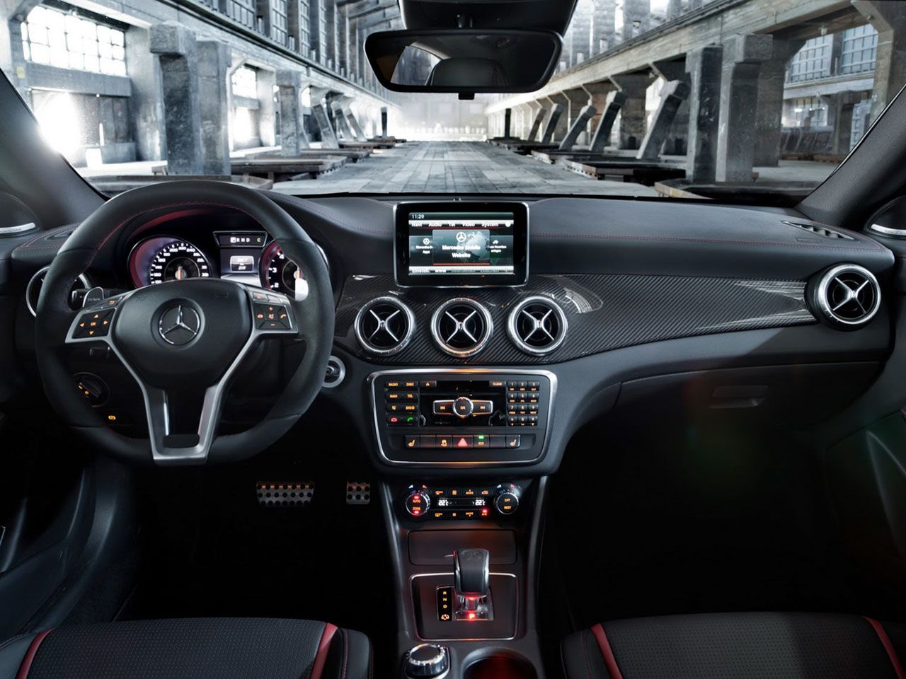 2014 Mercedes Benz Cla45 Amg Interior With Images Cla 45 Amg