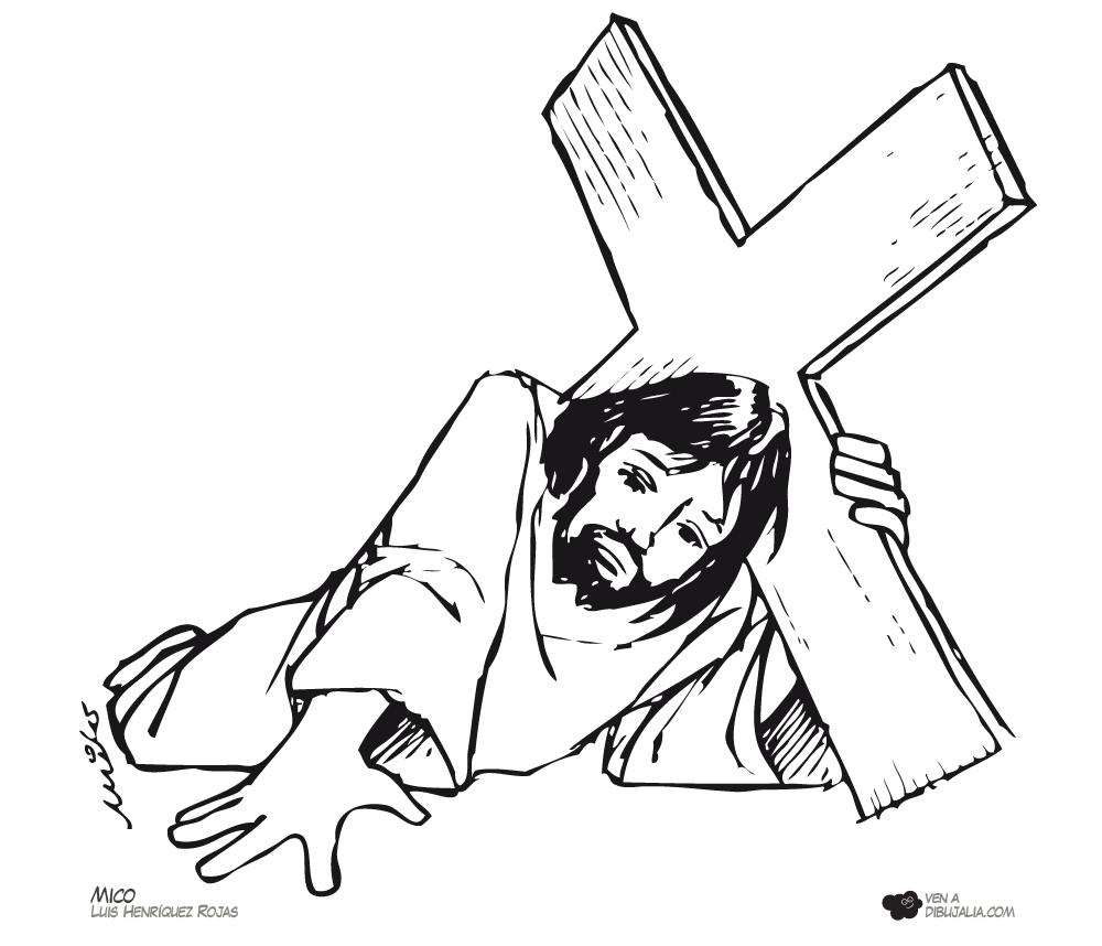 Via Crucis Caida 5 | Jesús | Pinterest | Vías, Semana santa y Religiones