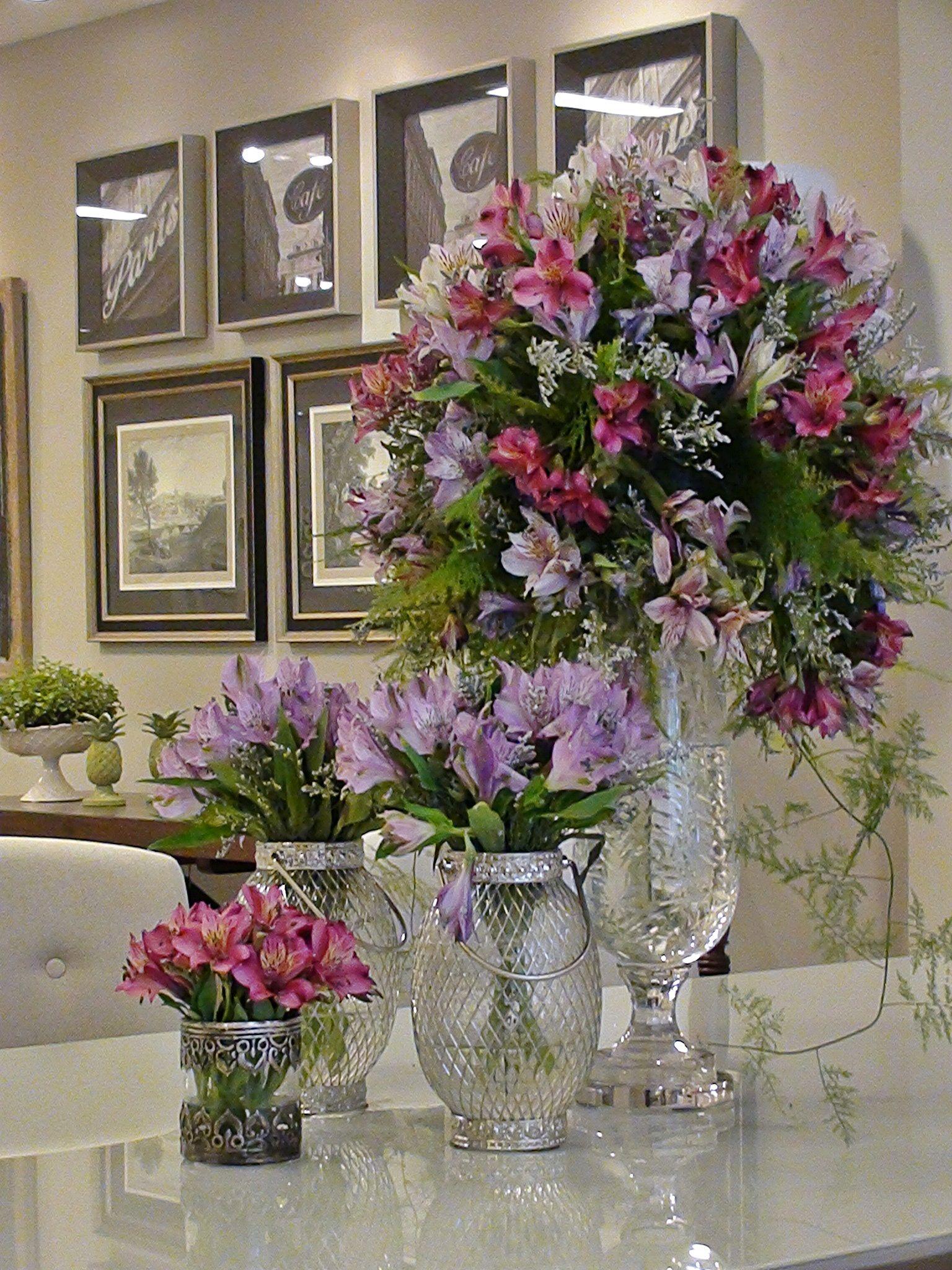 Flores e mais flores.