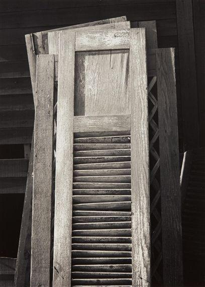 Old Doors, Columbia Farm, Los Angeles - Ansel Adams
