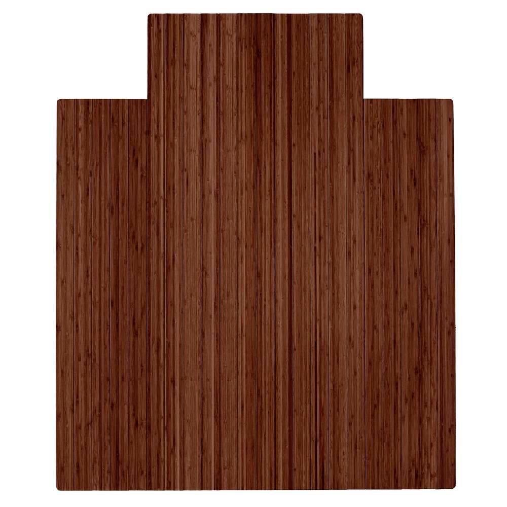 chair mat with lip. Bamboo Roll-Up Chair Mat With Lip-AMB24053 - The Home Depot Lip