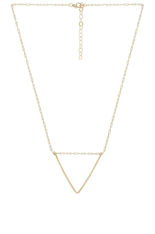 Sunburst Coin Necklace in Metallic Gold Paradigm e55KRqHUFg