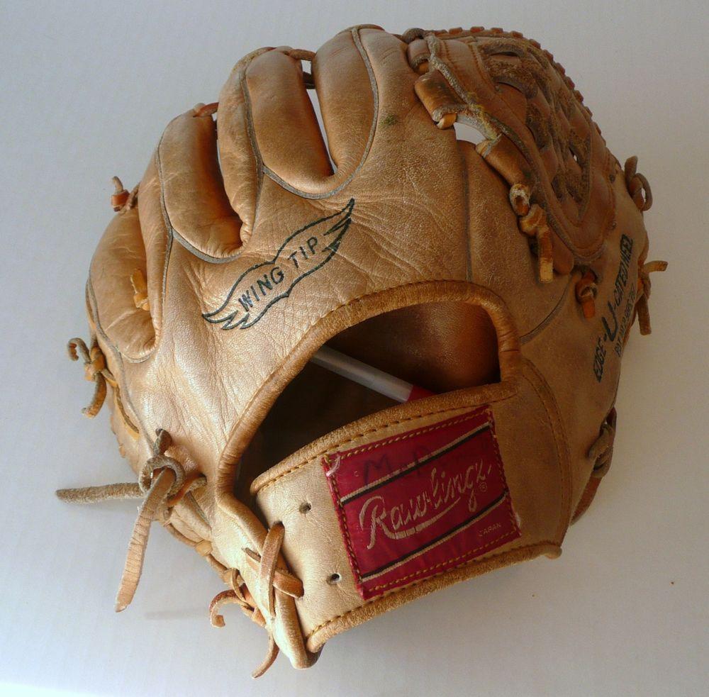 Vintage Brooks Robinson MLB Rawlings Baseball Glove Mitt