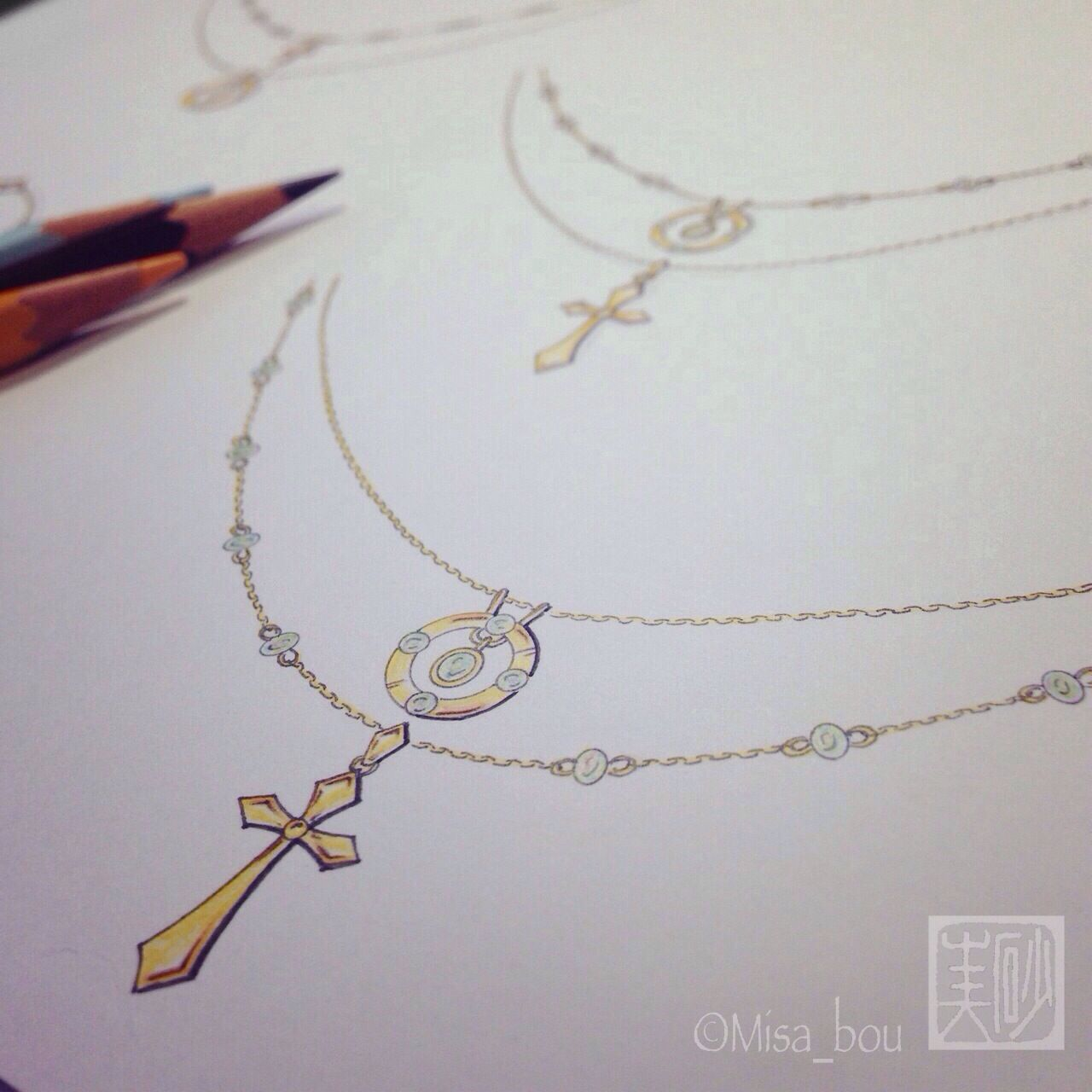 order necklace-jewelry design-
