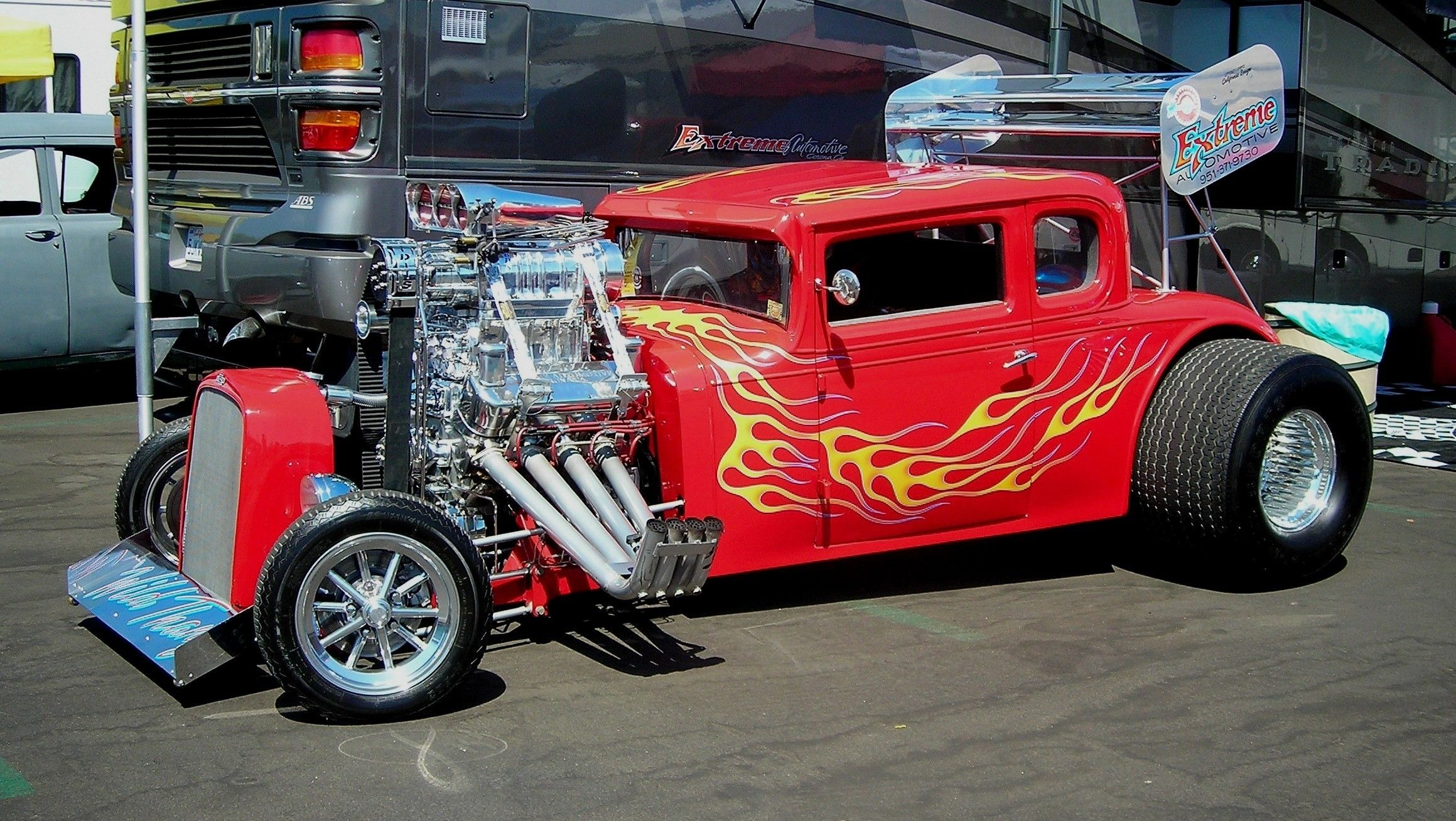 Www Old Classic Hotrods Com Vehicles Cars Custom Engine Chrome