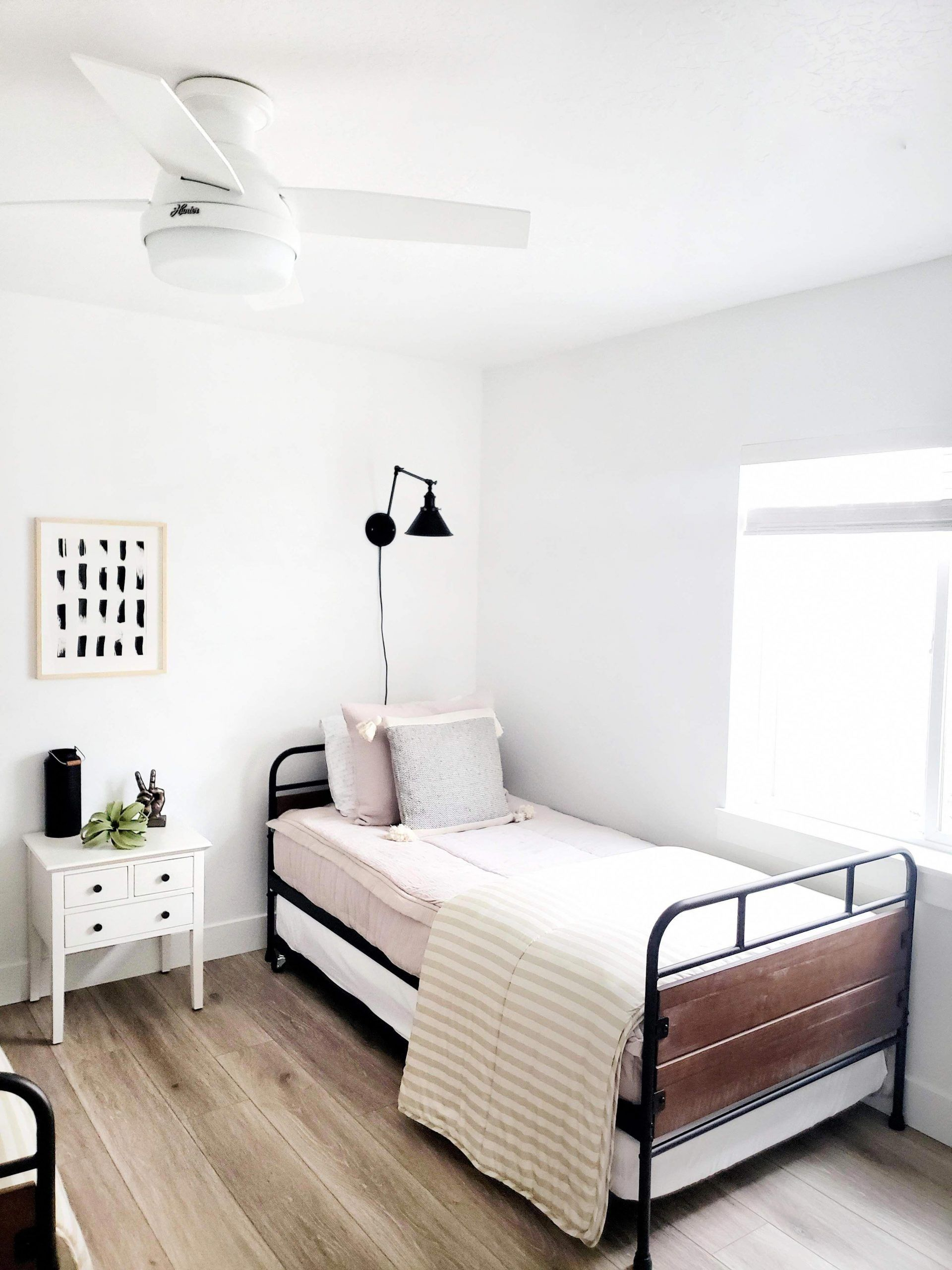 Photo of Helles Keller-Gästezimmer – White Lane Decor # Gästezimmer # Keller #bedroo …