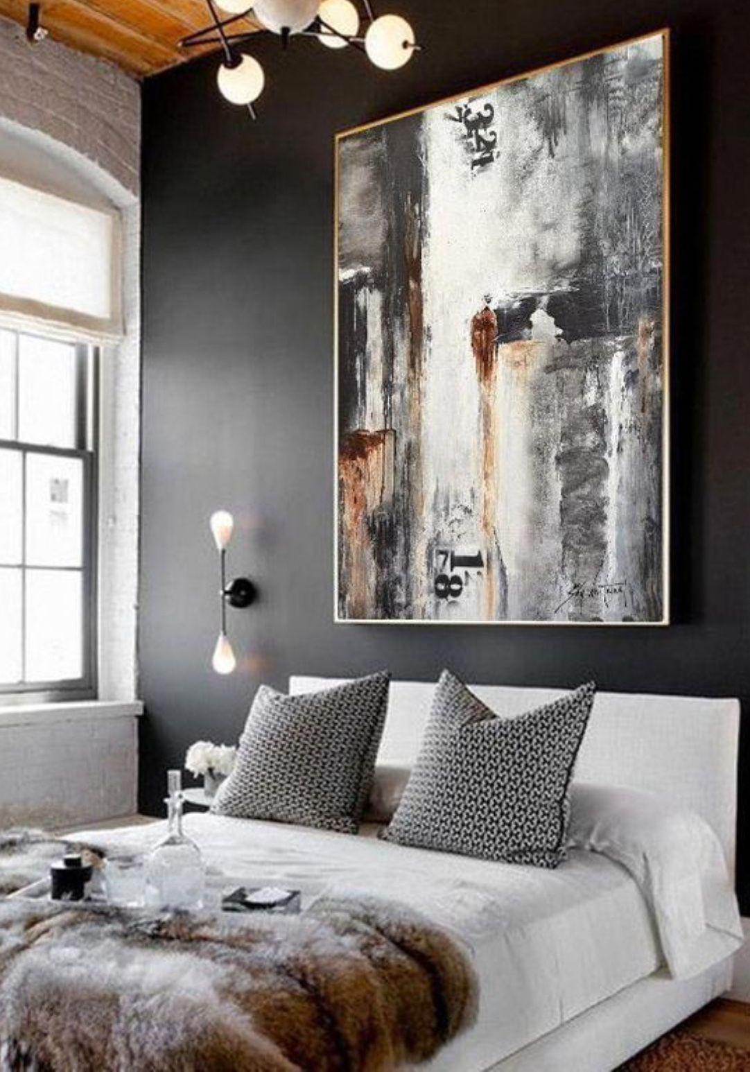 38 Modern Luxury Master Bedroom Design Ideas Contemporary Art Artists Bedroom Art Contemporary Paintings