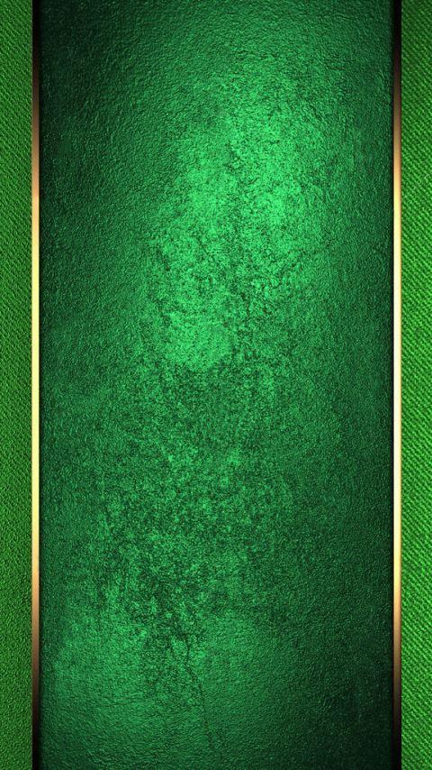 Green With Gold Trim Wallpaper Papel De Parede Para Telefone Papeis De Parede Wallpaper