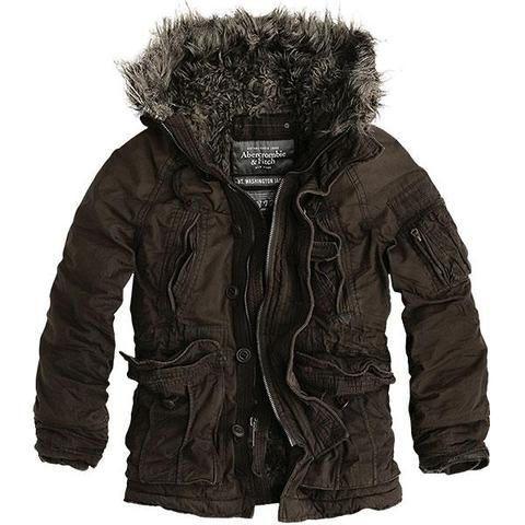 Abercrombie & Fitch Men's Jacket $95 | Mens winter coat