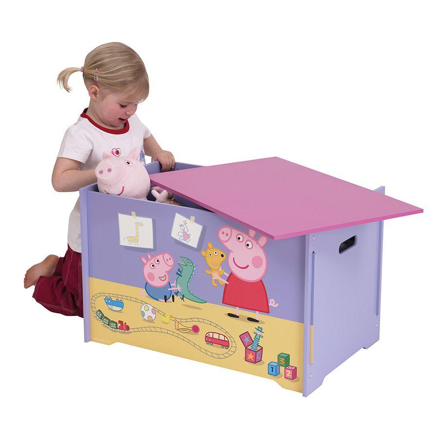 Peppa Pig Toy Box Toysrus Australia Peppa Pig Toys Toy Boxes Kids Toy Boxes [ 900 x 900 Pixel ]