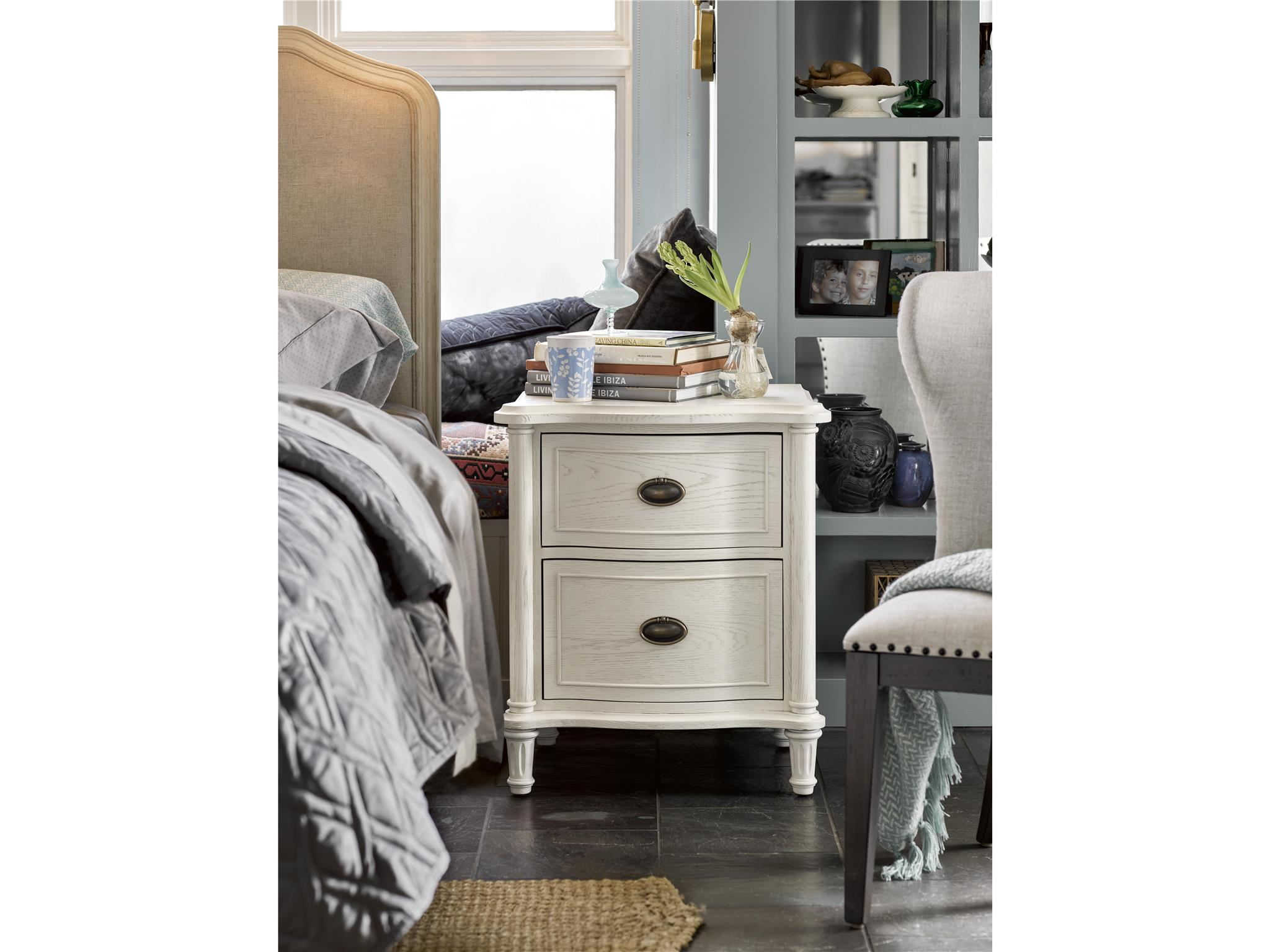 Universal Furniture Curated Amity Nightstand (With