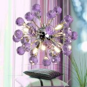 Crystal chandelier (Purple) drop style. ONLY $128.95