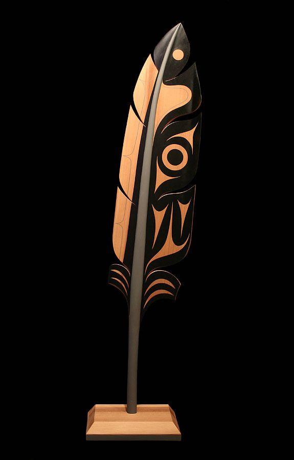 Raven feather pacific northwest art pinterest
