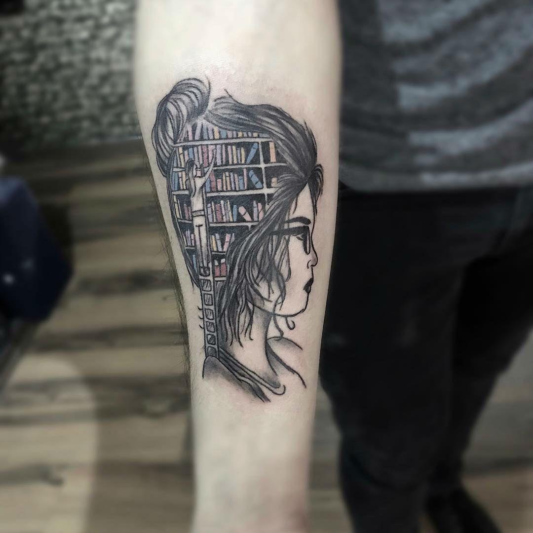20+ Exceptional Book Tattoo Ideas | Book tattoo, Hemingway
