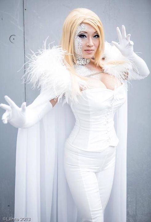 Emma Frost Costume By Yyaya Han Emma Frost Cosplay Emma Frost Costume Cosplay Woman