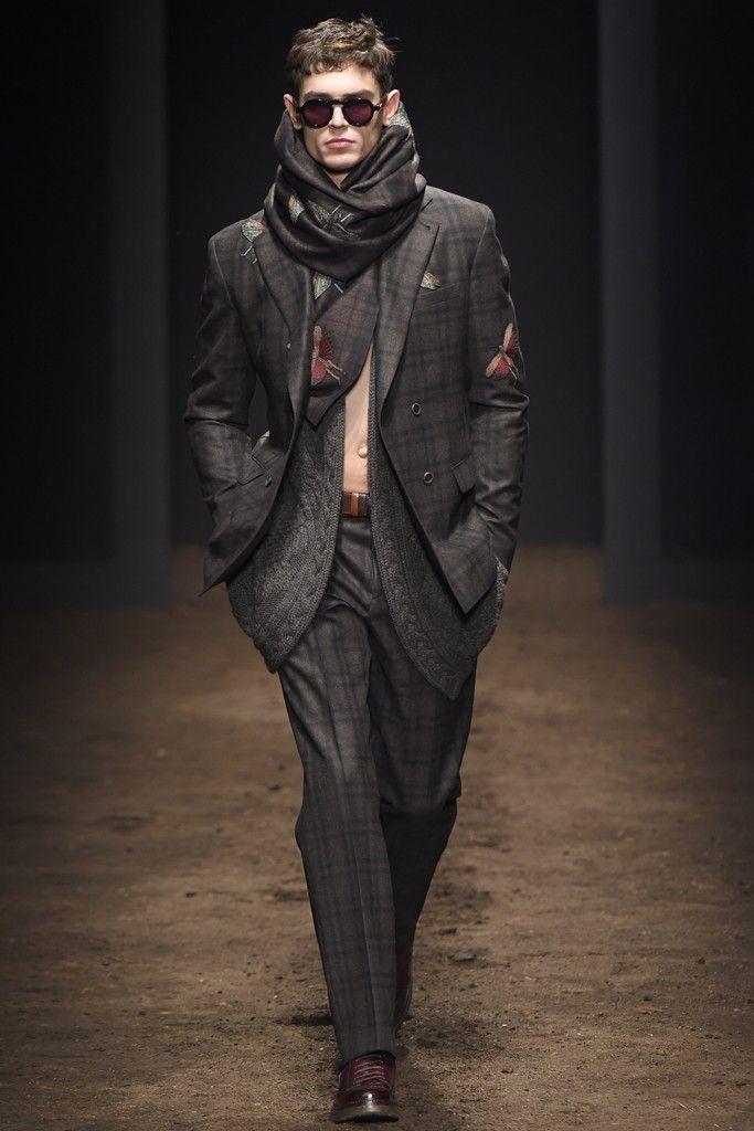 Salvatore Ferragamo Men's RTW Fall 2015