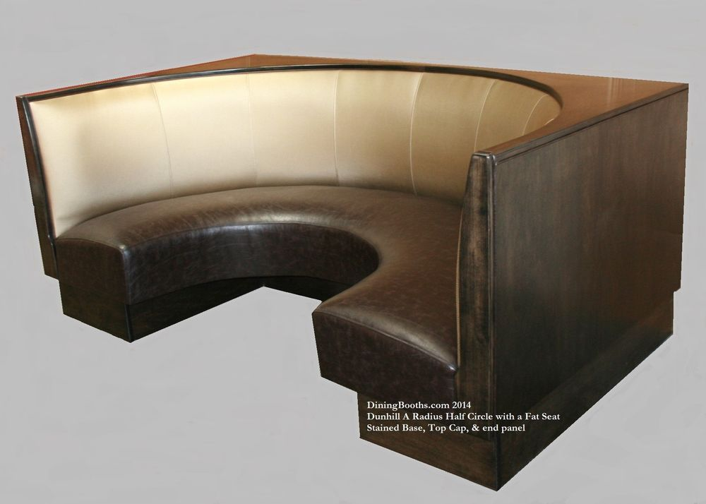 Custom USA Restaurant Dining Booth Banquette Kitchen Half Circle 4 x 7 x 4 Custom USA Restaurant Dining Booth Banquette Kitchen Half Circle 4  . Dining Booth Furniture. Home Design Ideas