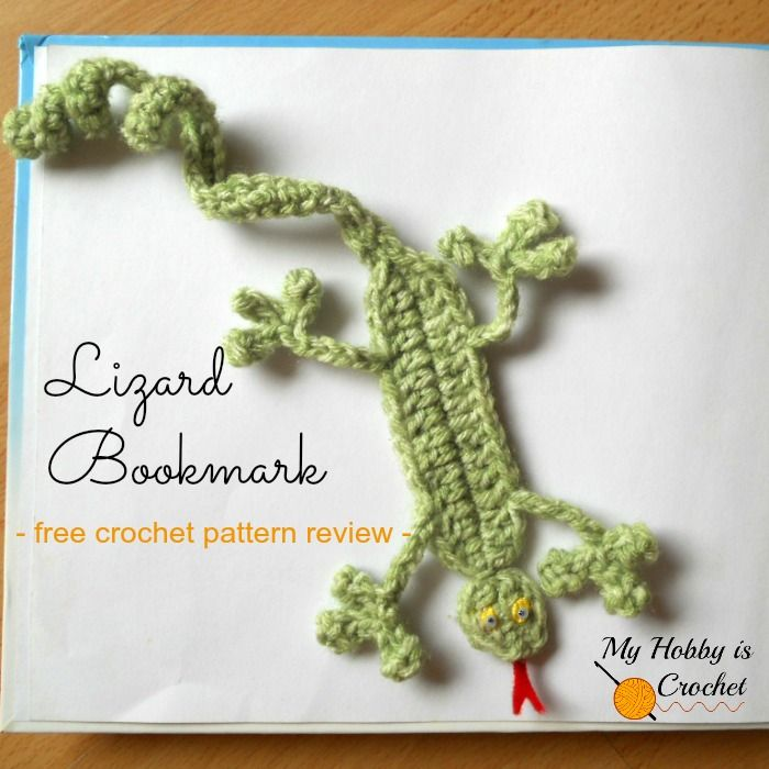 My Hobby Is Crochet: Bookmarks for Kids - 5 Free Crochet Patterns ...