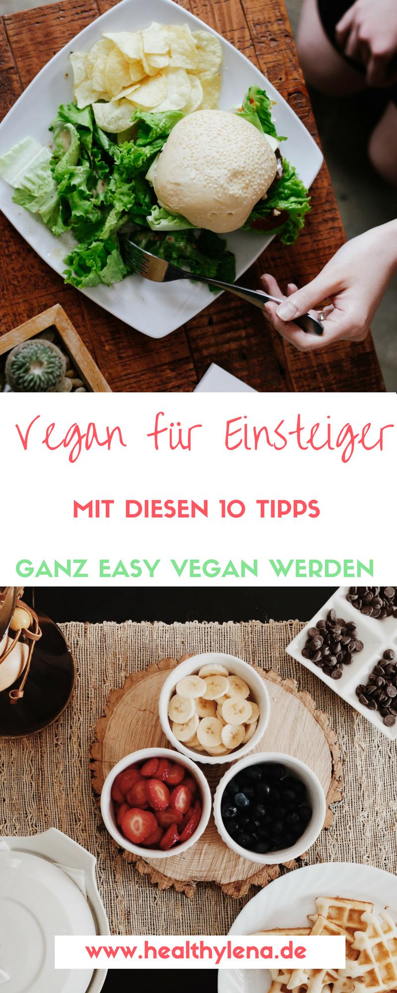 Vegan Fur Einsteiger Mit Diesen 10 Tipps Easy Vegan Werden Vegan Einkaufen Vegan Vegane