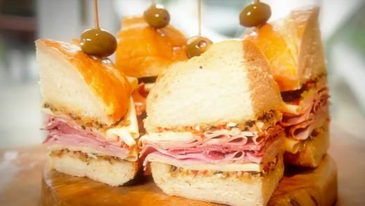 The Ultimate Muffaletta MANwich - Video Dailymotion
