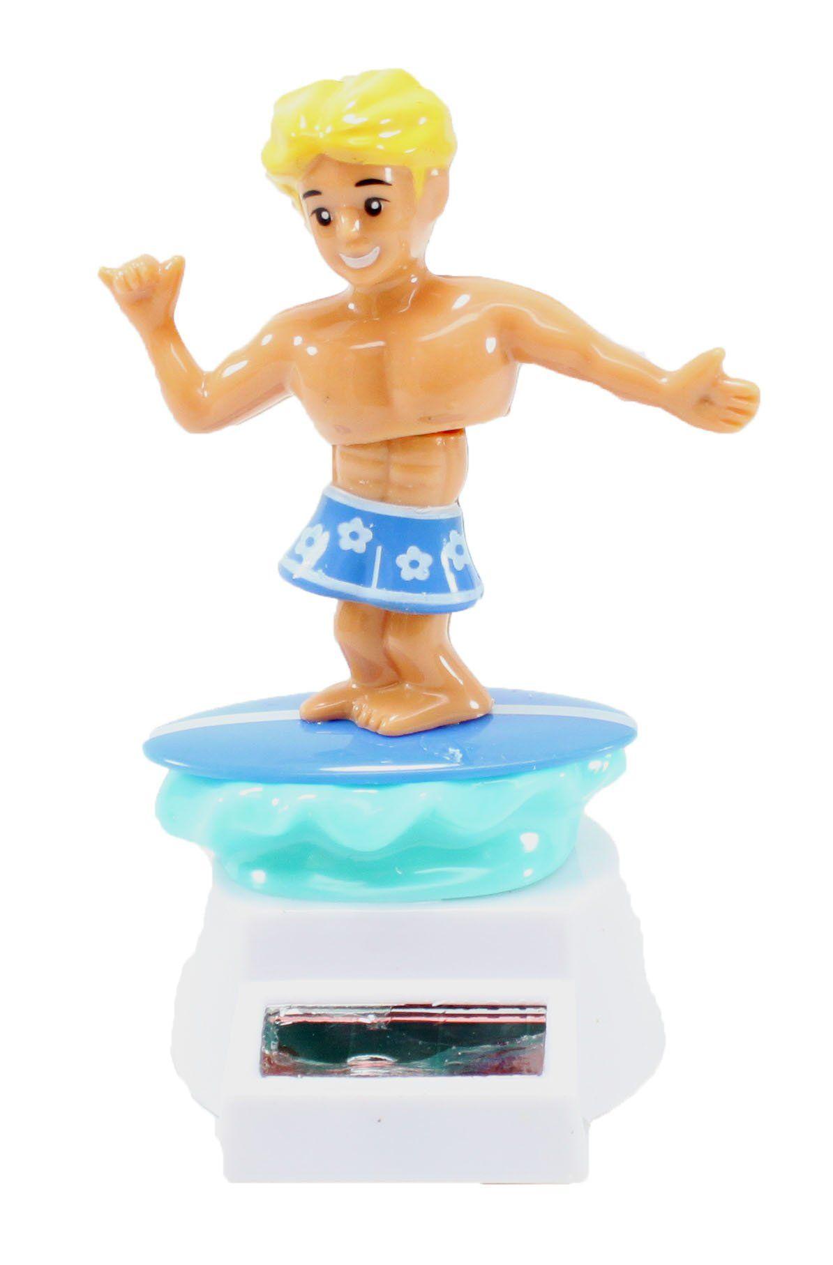 Girl Powered Ornament Novelty Beach Bikini Lady Solar Dancing Pal