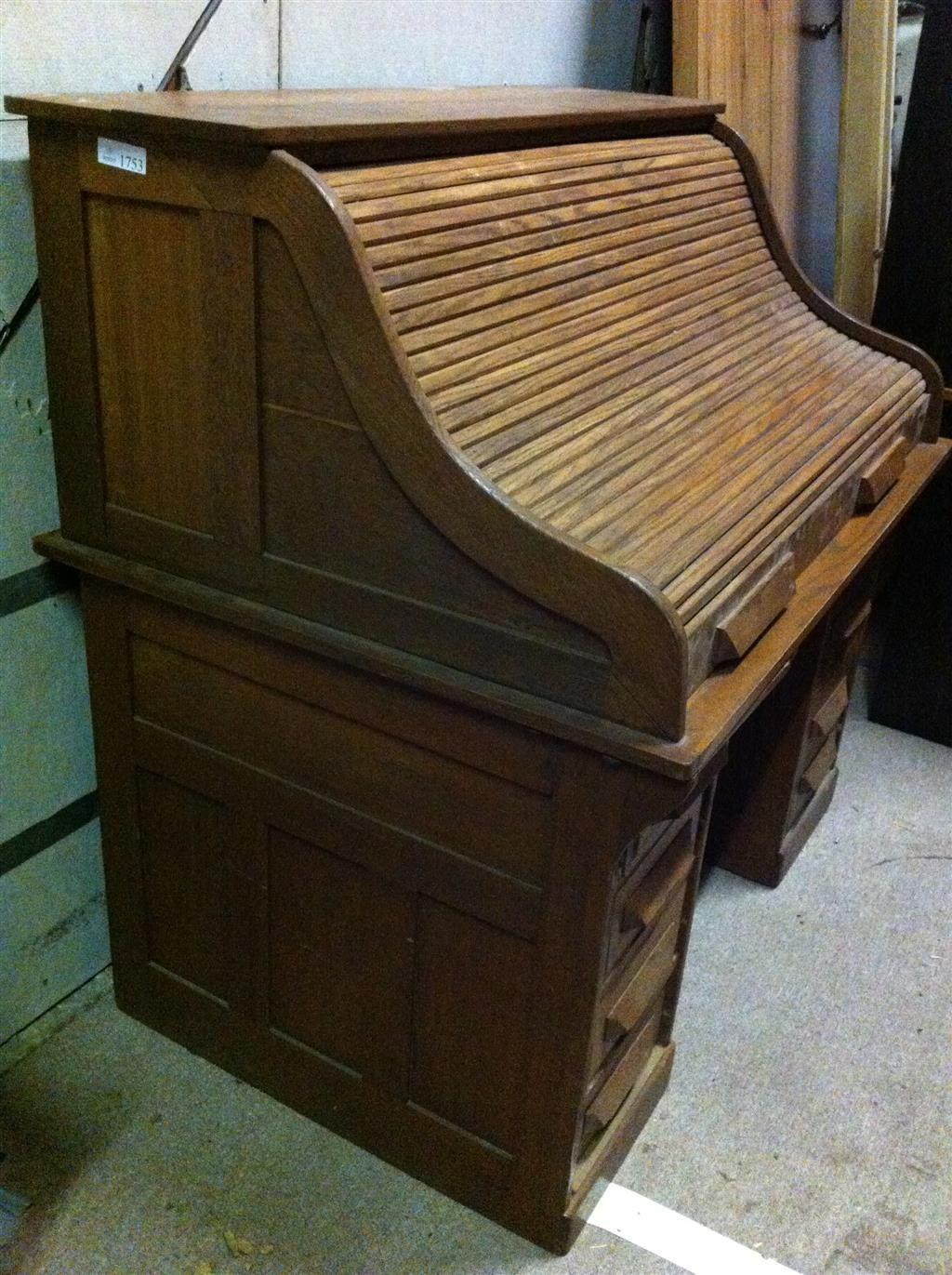 Antique Oak Roll Top Desk - Antique Oak Roll Top Desk Auction Items Pinterest Desks